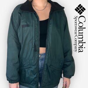 Columbia Lightweight Zip-Up Fleece-Lined Jacket